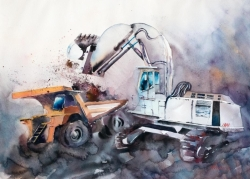 Excavators_ballet_MarinaAbramova_56x76